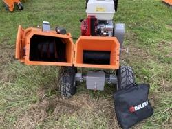 biotrituratore a scoppio con motore honda produzione di cippato mod dk 800 honda