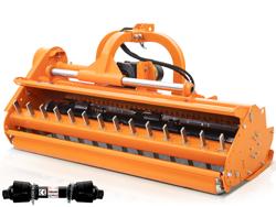 trinciatrice serie pesante spostabile universale a mazze per trattore toro 200