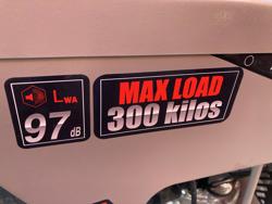 motocarriola 4x4 motore a scoppio b&s e start md 400 bsl