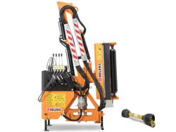 braccio decespugliatore idraulico per trattore trincia o barra tosasiepi mod airone 80