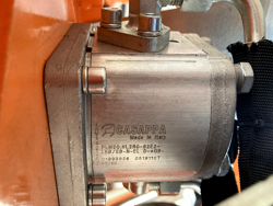 braccio decespugliatore idraulico per trattore trincia o barra tosasiepi mod airone 100