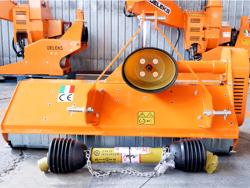 trincia a mazze per trattore 140cm di taglio serie leggera per erba e vigneto mod lince 140