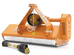 trinciatrice per trattore gommato o cingolato per erba e sarmenti taglio utile 165cm a mazze lince 165