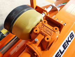 trincia a mazze per trattore tipo carraro 120cm di taglio spostabile serie leggera lince sp120