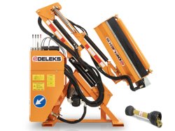 braccio decespugliatore idraulico per trattore trincia o barra tosasiepi mod condor 120