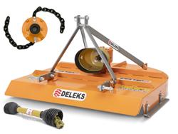 trincia a catene per trattore 1 2 m di taglio anche reversibile mod buggy 120c
