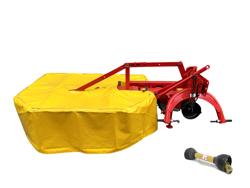 falciatrice rotante 2 tamburi per trattore braccio corto drf 135 mini