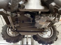 motocarriola 4x4 motore a scoppio briggs&stratton md 400