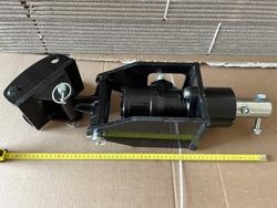 rotore idraulico per trivella su miniescavatore mod grhd