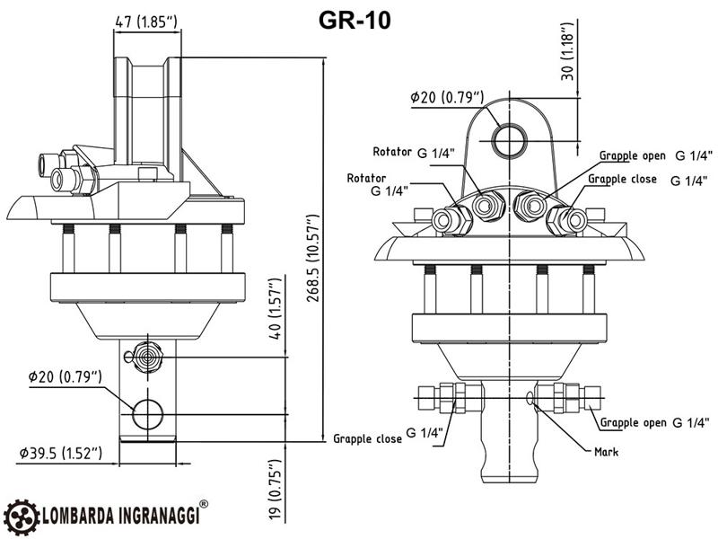 pinza-oleodimanica-da-4qli-per-legna-con-rotore-360-per-miniescavatore-mod-dk-10-gr-10