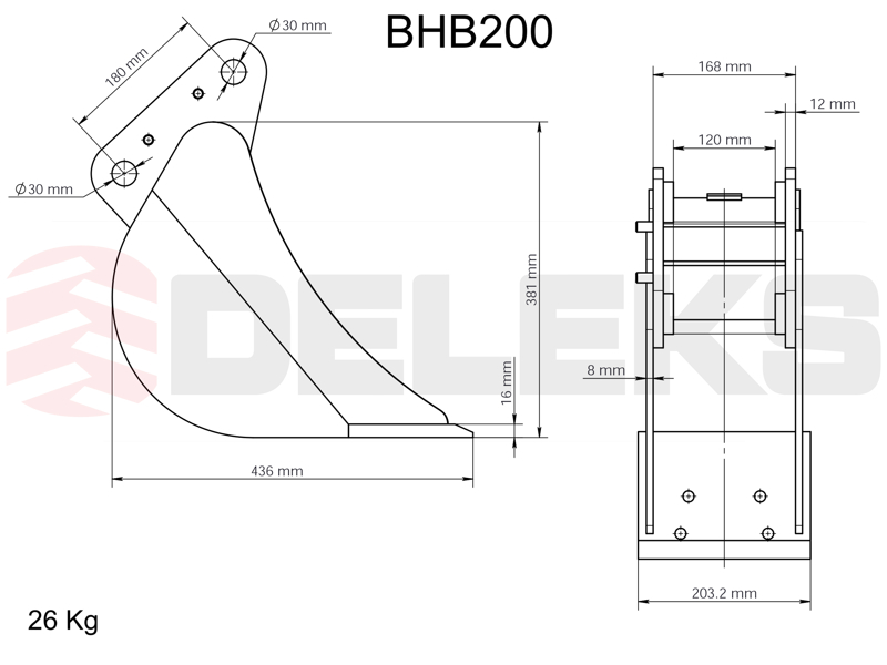 benna-per-miniescavatore-bhb-200