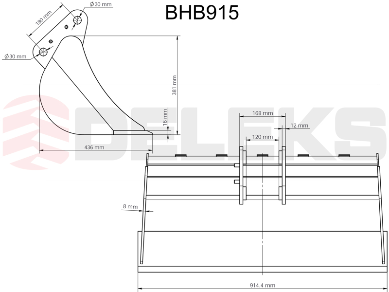 benna-per-miniescavatore-bhb-915