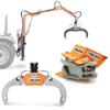pinze forestali oleodinamiche per legna rotatori idraulici e attrezzature per la movimentazione della legna